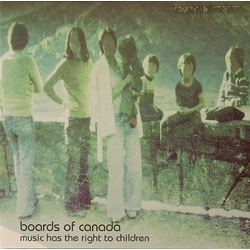 Boards Of Canada Music Has The Right To Children vinyl 2LP gatefold