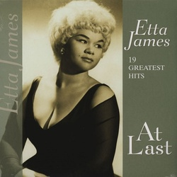 Etta James At Last 19 Greatest Hits compilation vinyl LP