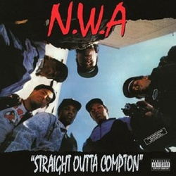 N.W.A. Straight Outta Compton 180gm vinyl LP + download NWA