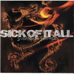 Sick Of It All Scratch The Surface MOV audiophile 180gm vinyl LP