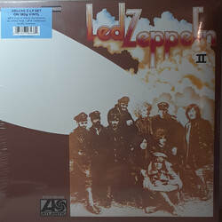 Led Zeppelin Led Zeppelin II Deluxe Remastered vinyl 2LP tri-fold sleeve