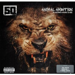 Fifty Cent Animal Ambition: An Untamed Desire To Win vinyl 2LP