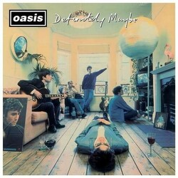 Oasis Definitely Maybe Remastered 180gm 2 LP +download, gatefold