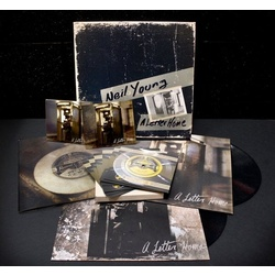 "Neil Young A Letter Home RSD deluxe limited edition vinyl 2LP/CD/DVD/7"" box set"