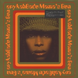 Erykah Badu Mama's Gun MOV180gm vinyl 2 LP in gatefold sleeve