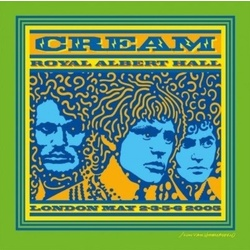 Cream Royal Albert Hall May 2/3/5/6 2005 reissue 180gm vinyl 3LP