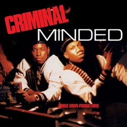 Boogie Down Productions Criminal Minded deluxe remastered vinyl 2 LP