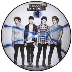 Five Seconds Of Summer 5 Seconds Of Summer RSD limited picture disc vinyl LP
