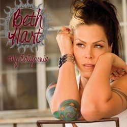 Beth Hart My California vinyl LP printed inner sleeve