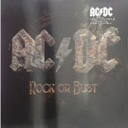 AC/DC Rock Or Bust With vinyl 2LP + CD in lenticular sleeve