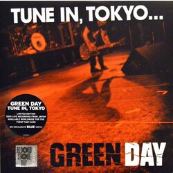 Green Day Tune In Tokyo EP RSD BLUE vinyl LP