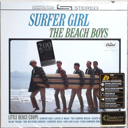 Beach Boys Surfer Girl Analogue Productions Stereo 200gm vinyl LP