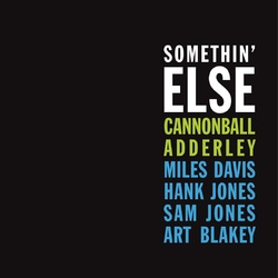 Cannonball Adderley Somethin' Else 180gm vinyl LP