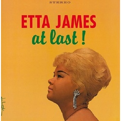 Etta James At Last! reissue 180gm vinyl LP