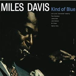 Miles Davis Kind Of Blue reissue 180gm vinyl LP