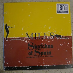 Miles Davis Sketches Of Spain reissue 180gm vinyl LP