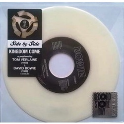 David Bowie / Tom Verlaine Kingdom Come RSD WHITE vinyl 7""