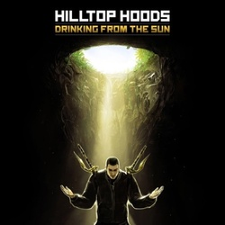 Hilltop Hoods Drinking From The Sun limited Halloween ORANGE vinyl 2 LP