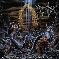 Immolation Here In After limited edition black vinyl LP + poster
