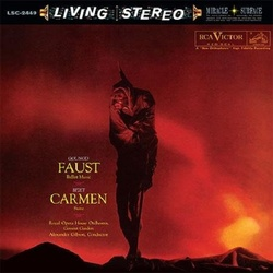Faust Ballet Music / Carmen Suite Analogue Productions 200gm vinyl LP