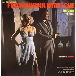 John Barry From Russia With Love 180gm COLOURED vinyl LP