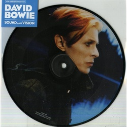 "David Bowie Sound And Vision limited 40th anny 7"" vinyl picture disc"