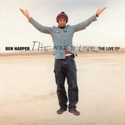 Ben Harper Will To Live - Live Ep limited EP 180g vinyl LP