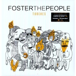 Foster The People Torches 180g w/download vinyl LP