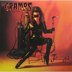 Cramps Flamejob ltd vinyl LP