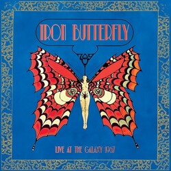 Iron Butterfly Live At The Galaxy 1967 vinyl LP