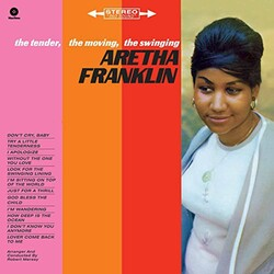 Aretha Franklin Tender Moving Swinging EU vinyl LP