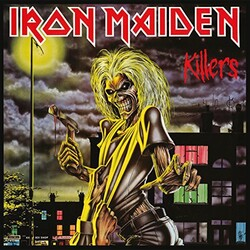 Iron Maiden Killers 180gm vinyl 3LP