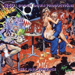 Boogie Down Productions Sex & Violence vinyl LP