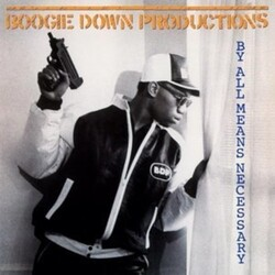 Boogie Down Productions By All Means Necessary EU vinyl LP