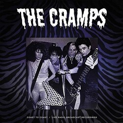 Cramps Coast To Coast UK vinyl LP