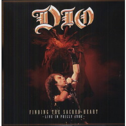 Dio Finding The Sacred Heart - Live In Philly 86 (Can) vinyl LP