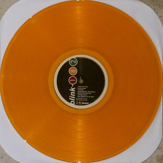 Quot Blink 182 Take Off Your Pants And Jacket Yellow Vinyl Lp