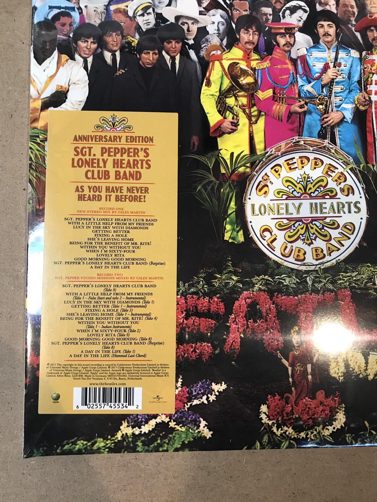 Beatles Sgt Pepper S Lonely Hearts Club Band 50th