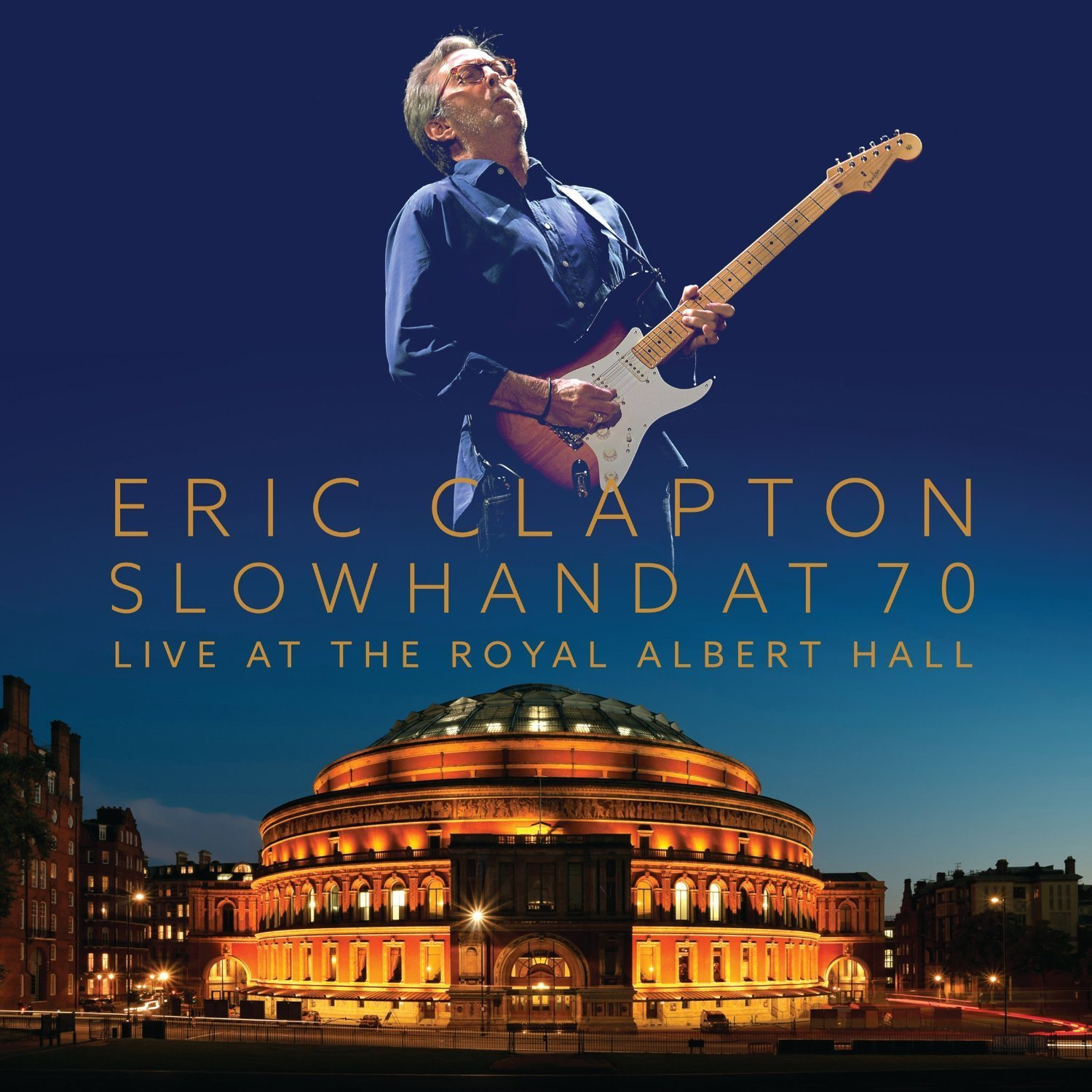 eric clapton slowhand at 70 live royal albert hall 180gm vinyl 3 lp dvd for sale online and instor. Black Bedroom Furniture Sets. Home Design Ideas