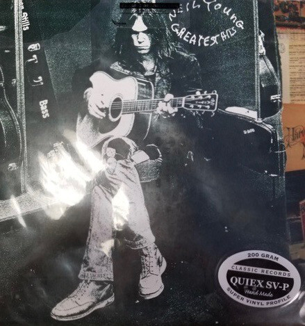Neil young greatest hits classic records 200gm vinyl 2 lp for Classic house vinyl sale