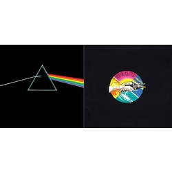 Pink Floyd Dark Side Of The Moon + Wish You Were Here 180gm 2 x vinyl LPs NEW/SEALED