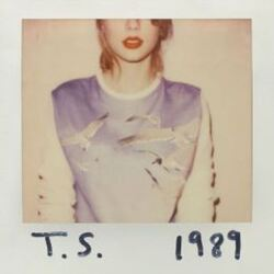 Taylor Swift 1989 vinyl 2 LP gatefold sleeve