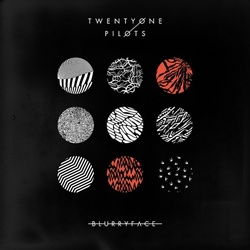 Twenty One Pilots Blurryface black vinyl 2 LP + download, gatefold sleeve