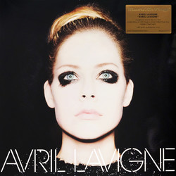 Avril Lavigne Avril Lavigne MOV ltd #d 180gm SILVER/BLACK vinyl LP g/f