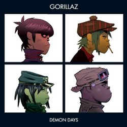 Gorillaz Demon Days 2018 reissue vinyl 2 LP g/f sleeve