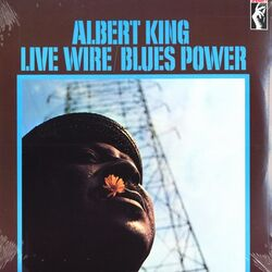 Albert King Live Wire/Blues Power Reissue vinyl LP