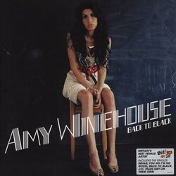 Amy Winehouse Back To Black EU issue vinyl LP