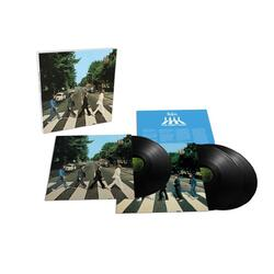 The Beatles Abbey Road 50th Anniversary Super Deluxe Edition vinyl 3 LP 2019 Stereo Mix lift off lid box