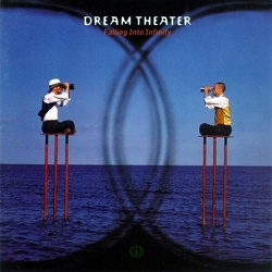 Dream Theater Falling Into Infinity EU limited numbered WHITE vinyl 2 LP