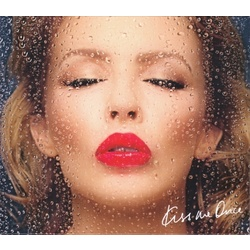 Kylie Minogue Kiss Me Once deluxe 13 track CD + DVD